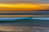Drowning in the sunset (Hanna Tor) Tags: sun sunset nature light longexposure sundown sea ocean seascape seashore sky beach water wave color hannator california pacific sony sony7rm3