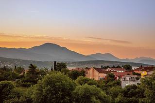 Podgorica at sunrise