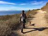 Walking Friendship Park (jmhull.LA) Tags: california chorgi southerncalifornia dog deanedanafriendshippark southbay ocean sanpedro pacific catalinaisland