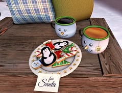 SWAY'S Snowman Mugs & Christmas Treats for Fifty Linden Friday (SherriOhCherri) Tags: holidays sways christmas sldecor cookies cocoa santa