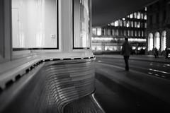 bench (Toni_V) Tags: l1000623 rangefinder digitalrangefinder messsucher leica leicam9 35lux 35mmf14asphfle summiluxm paradeplatz city stadt street bw monochrome blackwhite schwarzweiss sep2 silverefexpro2 niksoftware bench architecture vbz weihnachtsbeleuchtung night nacht zurich zürich switzerland schweiz suisse svizzera svizra europe ©toniv 2017 171201 winter dof bokeh