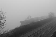 barge in fog (* brdonovan *) Tags: barge fog