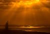 Burj Al Arab... soaked in sun rays! (Yogendra174) Tags: dubai sunset visitdubai burjalarab
