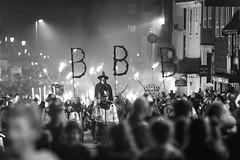 Battle bonfire night 17 (Nathan Horton Photography) Tags: bonfire battle uk england guy fawkes firework fire flames flare lighting canon 6d 70200 black white bw lens telephoto bokeh focus dog depth clown scary halloween