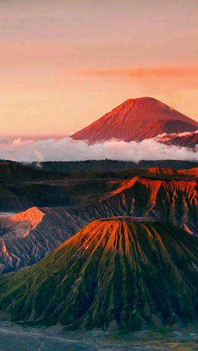 Bromo mountain, East Java, Indonesia