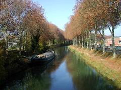 canal du Midi (nicéphor) Tags: midi toulouse méditerranée bateaux water eau canal sud occitanie riquet lauragais pyrénées