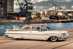 1959 Chevrolet Bel Air - Shot 9 (Dejan Marinkovic Photography) Tags: 1959 air airride american batwing bel car chevrolet chevy classic coupe impala lowrider oldstyle taildragger