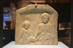 Chicago, IL - Grant Park - Field Museum - Ancient Mediterranean Cultures in Contact - Roman Stele (jrozwado) Tags: northamerica usa illinois chicago museum fieldmuseum naturalhistory grantpark roman stele