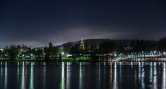 Kuusankoski (SPPhotography_Finland) Tags: kuusankoski kirkko church kymijoki joki river landscape landscapephotography finland canon canonphotography canon6d longexposure night nightphotography nightsky nightlights