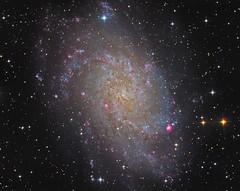 M33 LRGB (Photonen-Sammler) Tags: messier 33 triangulum galaxy m33 stars nebula universe astrophotography astronomy
