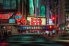 """A Walk in the Dark"" (36D VIEW) Tags: minoltamcrokkorpf58mm14 mcrokkorpf58mm14 minoltalens 58mm minoltarokkorpf58mm14 rokkor sony a7m2 a7ii vintage minolta58mm legacy nyc newyork city night motion manhattan nightlife neon street lights mirrorless"