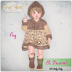 [VK]Outfit Eli Raincoats (Viv.a! Kids) Tags: ninetynine td baby vkvika