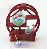 Mt Fuji Room # 6 (MurderWithMirrors) Tags: rement miniature mtfuji mwm display fishbowl tray pot