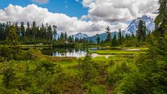 Picture Lake (ValeTer_) Tags: nikond5000 cascademountains mountbaker usa washingtonstate picturelake mountain nature landscape