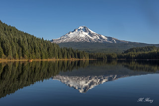 DSC_1892 - Trillium Lake and Mount Hood - Oregon