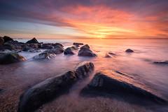 616 (verrant.james) Tags: keyhaven southcoast longexposure sunset sky seascape rocks coast filters clouds