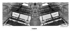 Undicht (petra.foto busy busy busy) Tags: monocrom spiegelung reflexion werkshalle regen nas schwarz weis fotopetra canon 5dmarkiii