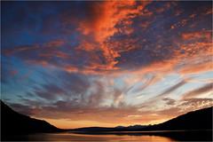 sunset............ (atsjebosma) Tags: ofodfjorden norway noorwegen narwik zonsondergang clouds sky atsjebosma colourful kleurrijk 2017 wolken coth5 ngc