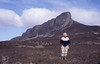 Me and the Sgurr of Eigg, May 1987 (Mary Gillham Archive Project) Tags: 12016 1987 eigg island landscape marygillham may1987 nm474840 scotland unitedkingdom gb