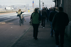 Cycling is hilarious (jrslv_) Tags: amsterdam cycling hilarious fun bicycle lekker fietsen street holland netherlands