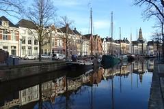 20171124 07 Groningen - Hooge der A (Sjaak Kempe) Tags: 2017 herfst autumn sjaak kempe sony dschx60v nederland netherlands niederlande groningen stad hooge der a gracht canal dutch hollandse grachten