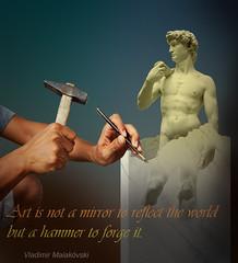 Sculptor (jaci XIII) Tags: escultor estátua escultura mãos martelo mármore sculptor sculpture hands hammer marble statue
