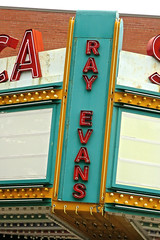 Ray Evans Seneca Theatre, Salamanca, NY (Robby Virus) Tags: salamanca newyork ny upstate ray evans seneca theatre theater movies cinema live performances stage marquee neon sign signage songwriter