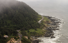 No man was ever wise by chance… (ferpectshotz) Tags: oregoncoast capeperpetua pacificocean pacificcoast pacificcoasthighway summerroadtrip summer summerfog green coldsummer waves surf