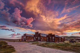 Bodie Post-storm Sunset