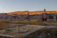 Golden Hour Reflection (Jeffrey Sullivan) Tags: bodie state historic park eastern sierra bridgeport california usa abandoned wild west ghost town night photography workshop canon eos 6d astrophotography photo copyright 2017 jeff sullivan september