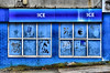A BLUE night out ! (Explored) (CJS*64) Tags: nightclub blue window windows derelict dereliction cjs64 craigsunter cjs nightout pub club closed bolton nikon nikkorlens nikkor nikond7000 24mm85mmlens dslr d7000