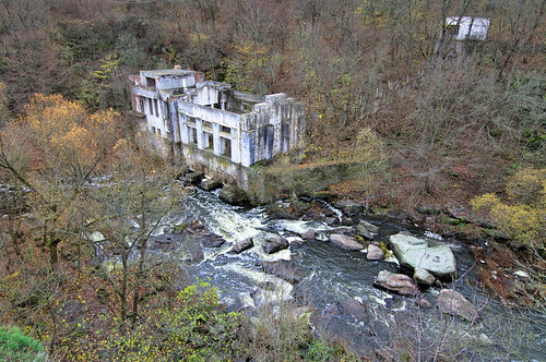Abandoned Hydroelectric Station