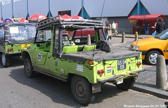 Citroën Méhari 4x4 Voisin 1975 (XBXG) Tags: 0554eb citroën méhari 4x4 1975 citroënméhari voisin mehari citroënmehari green vert 4wd awd citromobile 2007 citro mobile veemarkt utrecht nederland holland netherlands paysbas vintage old classic french car auto automobile voiture ancienne française vehicle outdoor