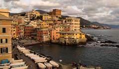 Liguria (damar47) Tags: genova landscape town liguria pentax wide k30 italian italy italia sea mare