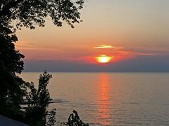 Lake Erie Sunset (craigsanders429) Tags: sunsetphotography sunsets sunset sunsetcolors lakeerie lakeerieinohio water waterways cloudsandsky clouds reflectionphotographs reflectionphotography