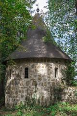 Bistra - 'hidden' castle tower (rlubej) Tags: notranjska castle