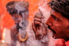 DSCF1118 (yaman ibrahim) Tags: smoking chillum sadhu india hashish marijuana high