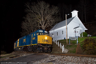 CSX 9992 P902 at Huntdale, North Carolina