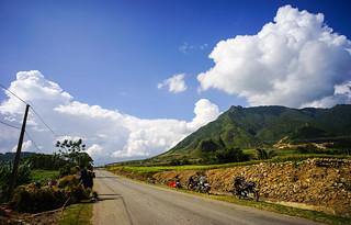 Mountain scenery in Northern Vietnam