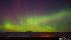 171107-88 Aurore boréale (clamato39) Tags: îledorléans provincedequébec québec canada auroreboréale beauté nature vert longexposure poselongue ciel sky