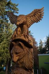 DSC_8019 (Copy) (pandjt) Tags: hope hopebc britishcolumbia carving carvings chainsawcarving sculpture publicart artwalk hopeartwalk woodcarving artwork