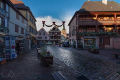 Turckheim (JiJi-aime) Tags: village viticole alsacien déco noel