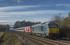 67003 Hauling 91131+82219 through Foxcovert-1 (Thomas Nicklin Photography) Tags: ecml eastcoastmainlinediverts diversion diverts ecmldiverts eastcoast virgintraineastcoast eastcoastmainline