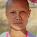 Buddhist Woman on Pilgrimage