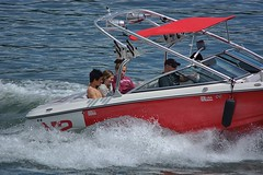 Cruising (swong95765) Tags: boat cruise people recreation boating recreational waves