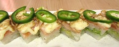 Jalapeno Salmon1 (annesstuff) Tags: annesstuff food sushi seafood fish japanese salmon rice jalapeno spicy pepper