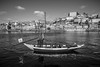 Porto (Fret Spider) Tags: porto portugal douro douroriver unesco heritage honeymoon vacation fun excitement relax recuperate sonya7rii leicaaposummicron50mmf20asph canonef24mmf14liiusm church se alley port boat river monochrome bw mono