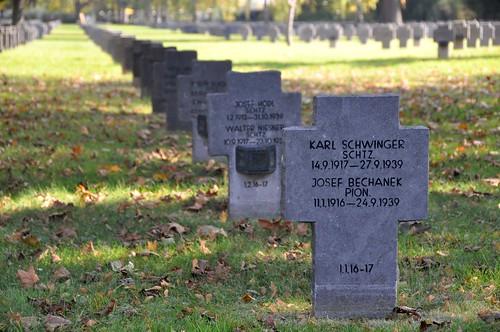 Wiener Zentralfriedhof, Tote des 2. Weltkriegs