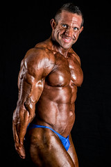 Male bodybuilder (Rick Drew - 19 million views!) Tags: pose posing posed muscled muscles fit fitness ripped pecs strong strength rip healthy