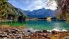Verdi di lago. (valpil58) Tags: lago fusine friuli landscape moutains lake nikon d600 1424mm ultrawideanglelens